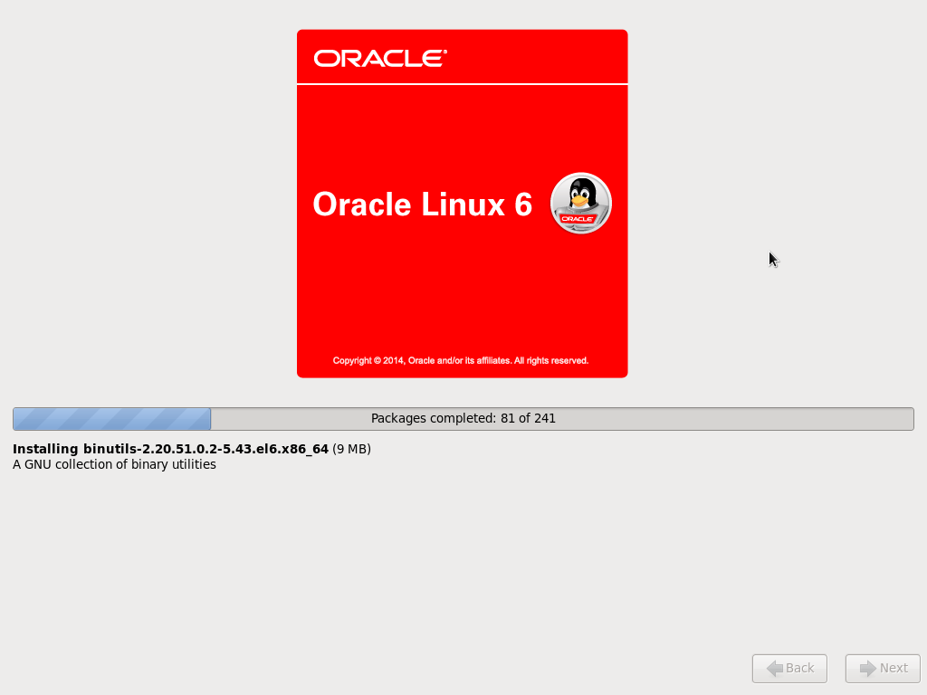 Oracle Linux 6.7 – Install